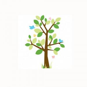 استیکر دیواری اتاق کودک روم میتس roommates طرح Dotted Tree