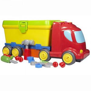 کامیون حمل پازل بلوباکس Blue Box